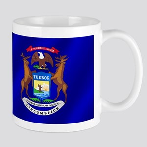 Michigan State Flag Mug