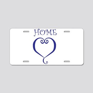 Home-Sweet-Home Aluminum License Plate