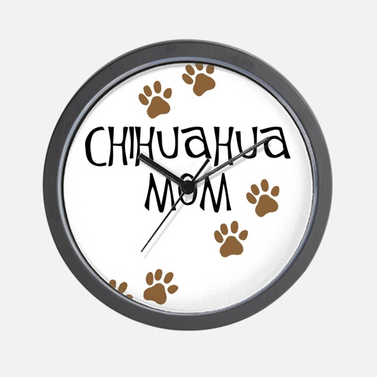 Unique Unique dog mom design Wall Clock