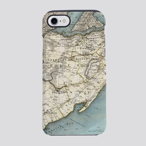 Vintage Map of Staten Island N iPhone 7 Tough Case
