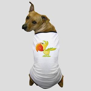 Cartoon Parrot Dog T-Shirt