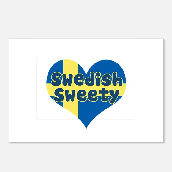 Swedish Sweety Postcards (Package of 8)
