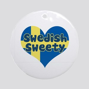 Swedish Sweety Ornament (Round)