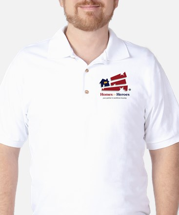 Homes For Heroes Golf Shirt