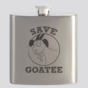 Save Goatee Flask