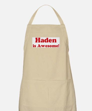Haden is Awesome BBQ Apron