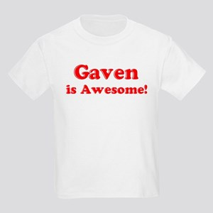 Gaven is Awesome Kids T-Shirt