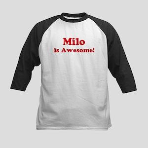 Milo is Awesome Kids Baseball Jersey