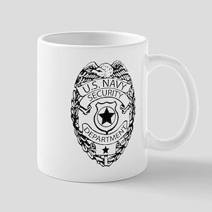 US Navy Police Badge Mug