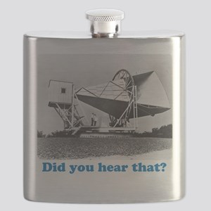 Did you hear that? Flask