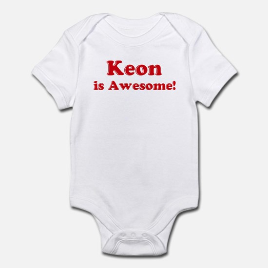 Keon is Awesome Infant Bodysuit