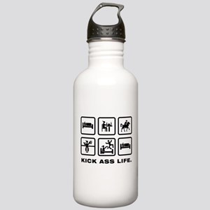 Horse Riding Stainless Water Bottle 1.0L