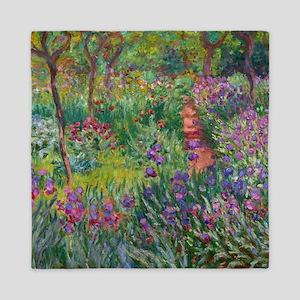 Giverny Iris Garden Queen Duvet