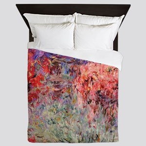 Flowering Trees Queen Duvet