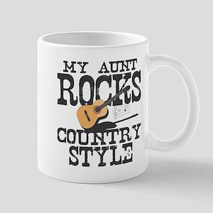 Aunt Rocks Country Mug
