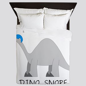 Dino Snore Queen Duvet