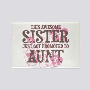 Promoted Aunt Rectangle Magnet
