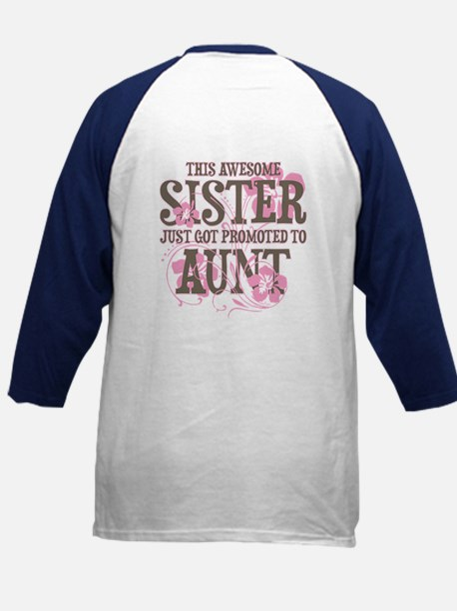 Promoted Aunt Kids Baseball Jersey