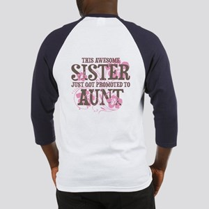 Promoted Aunt Baseball Jersey