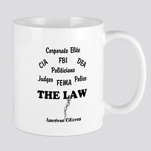 Channelingmyself Above the Law Mug