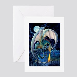 Dragon Causeway Greeting Cards
