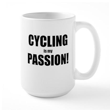 CYCLING is my PASSION - Large Mug