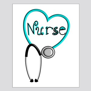 Nurse BLUE STETHO Posters