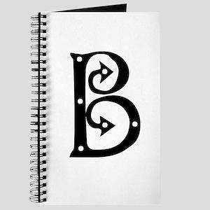 Anglo Saxon Monogram B Journal