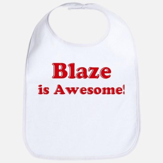 Blaze is Awesome Bib
