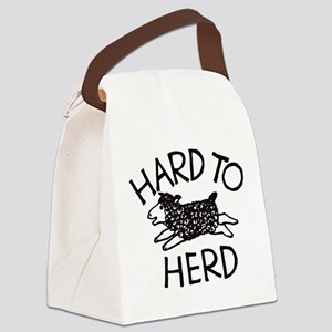 Hard to Herd Lola Canvas Lunch Bag