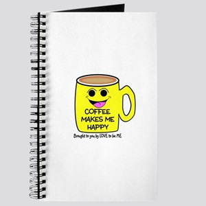 COFFEE MAKES ME HAPPY Journal
