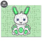 Kawaii Mint Green Bunny Puzzle