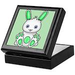 Kawaii Mint Green Bunny Keepsake Box