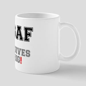 WGAF - WHO GIVES A FRIG! Small Mug