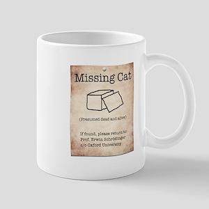 Schrödinger's Missing Cat Mug
