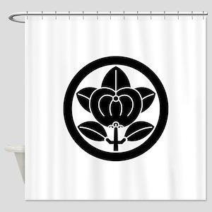Hikone mandarin orange Shower Curtain