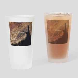 To err is human Drinking Glass