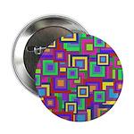 Retro Rainbow Squares Pattern 2.25