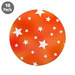 Orange White Star Pattern 3.5