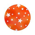 Orange and White Star Pattern 3.5