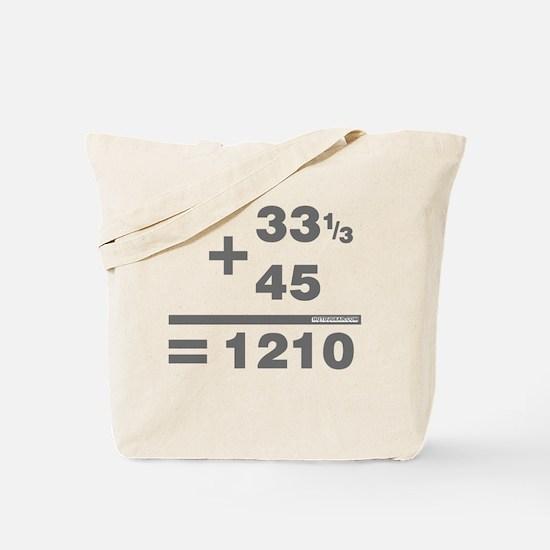 DJ Maths Tote Bag