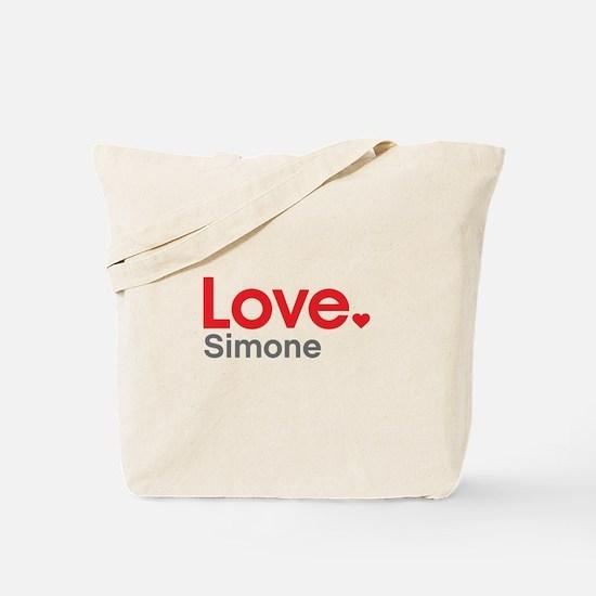 Love Simone Tote Bag