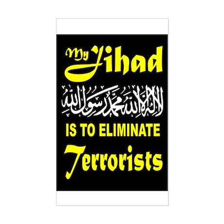 MY JIHAD Sticker