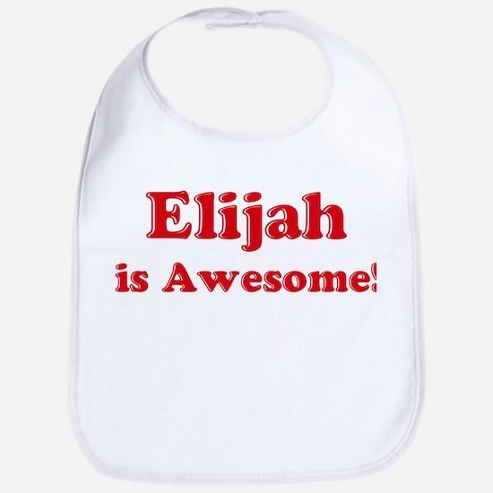 Elijah is Awesome Bib