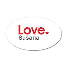 Love Susana Wall Decal