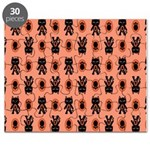 Kawaii Orange Cat Paw Puzzle
