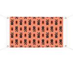 Kawaii Orange Cat Paw Banner