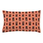 Kawaii Orange Cat Paw Pillow Case