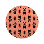 Kawaii Orange Cat Paw 3.5