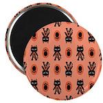 Kawaii Orange Cat Paw 2.25